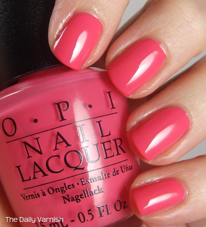 O P I Strawberry Margarita Nail Lacquer Jules Hair Beauty Supplies